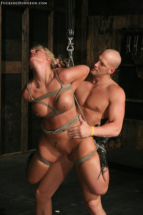 Photo of slave Phoenix Marie bound, suspended and fucked
