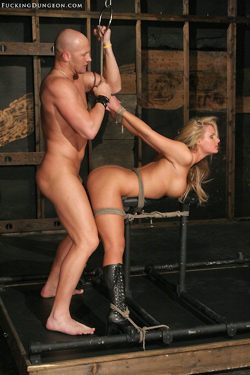 Image of blonde slave Phoenix Marie got fucked in bondage