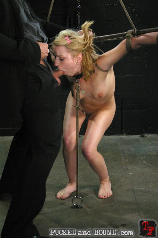Picture of slave LexiBelle having hardcore bondage sex