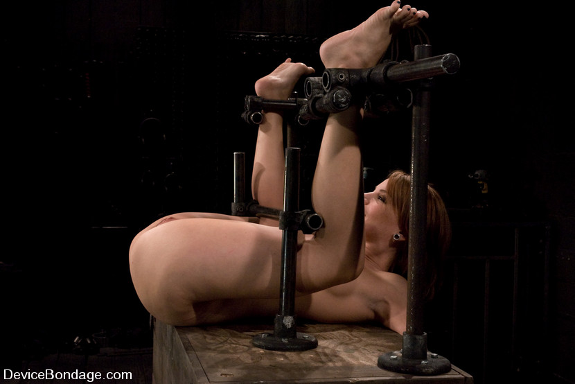 BDSM device used for naked slave locking