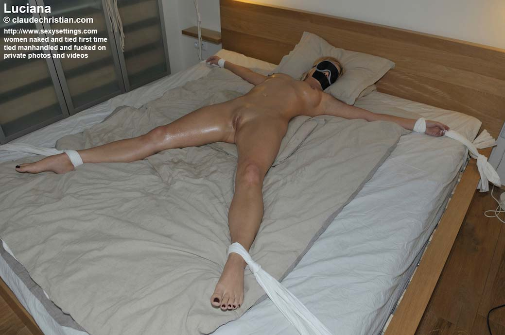 Tied Bed Fucked Japanese