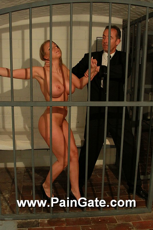 Busy spy is about to be interrogated in this BDSM story