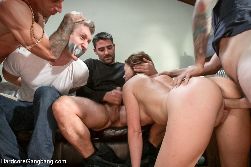 Wife Gangbang In Front Of Husband