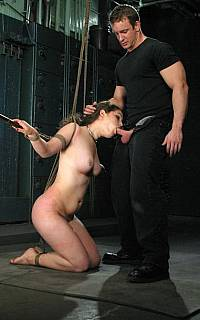 Cock sucking slave Charlotte Vale (Sep 2008)