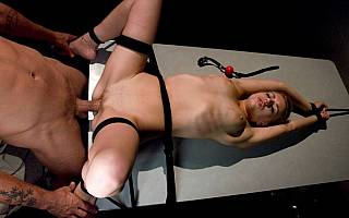 Lexi Belle in bondage and fucked (Sep 2008)