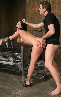 Clair Dames bondage fucking (Dec 2008)