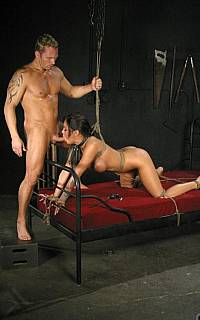 Angelina Valentine bondage fucking (Jan 2009)