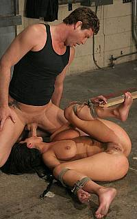 Charley Chase bondage blowjob (Mar 2009)