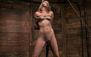 Lexi Belle nude and bound