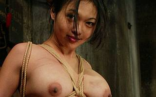 Sexy asian is happy being tied up and whipped (Jan 2011)