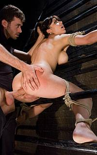 BDSM torture is about fucking the girl in her ass