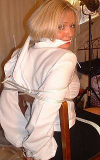 Good example of clothed bondage