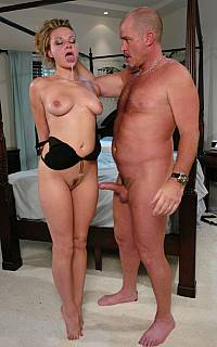 Slutty spouse punished in a badroom
