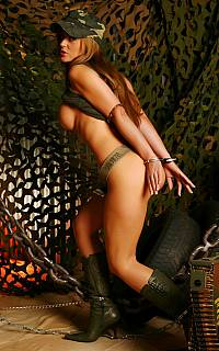 There is now way for captive girl soldier to escape her captivity