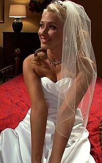 Young bride is blonde and beautiful (Mar 2012)