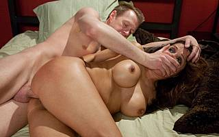 Tied wife is fucked by angry husband