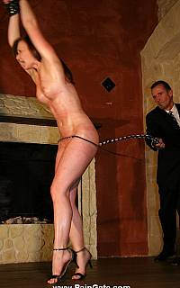 Husband is whiping his handcuffed wife (Mar 2013)