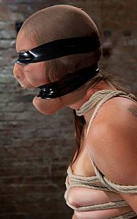 Extremely tight tape gag