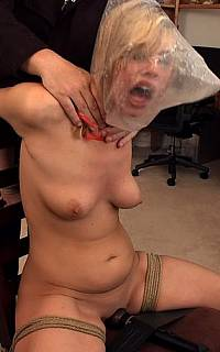 Housewife asphyxiated with plastic bag