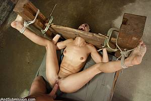 Bondage slut is banged (Jul 2013)