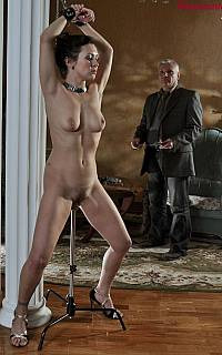 Girl is enjoying bondage helplessness (Jul 2013)