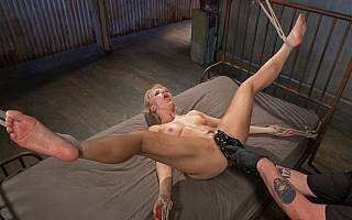 Fisting the bed bound woman