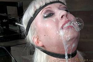 Slut is having her mouth full of cum (Nov 2013)