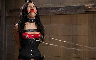 BDSM pain and sexual pleasure mixed together