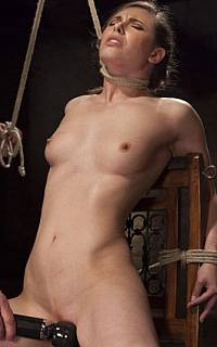 Hanging torture and sexual tease