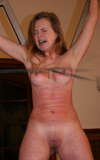 Tits whipping extreme torture